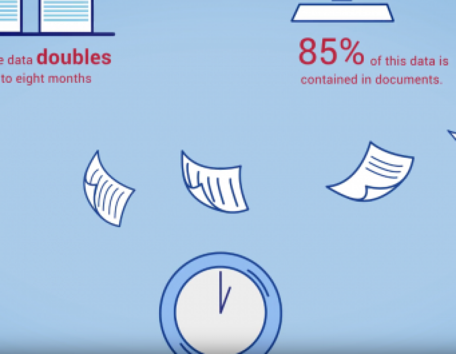 Document management – Infographic animation