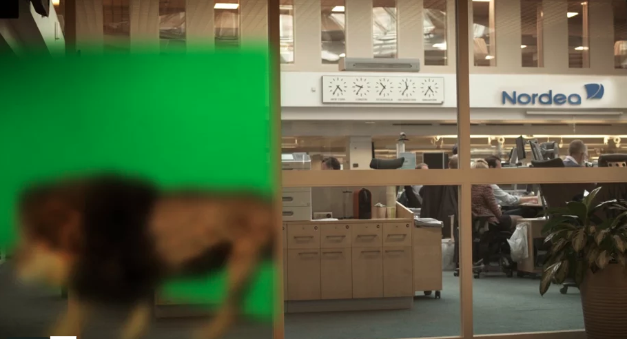VFX breakdown – Nordea Markets
